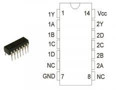 CD4012 DIP14