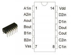 CD4081 DIP /MC14081BM1/