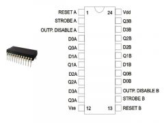 CD4508 DIP TEX.