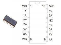 CD4009 SMD