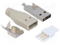 USB CSATL. USB-A DUGÓ KÁBELRA