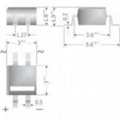 B80C500DM MICRODIL /MYS80/ 160V 0,5A