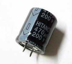 470uF 250V 30X30 HITANO