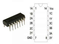 74HC11 DIP14