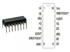 74HC123 DIP16