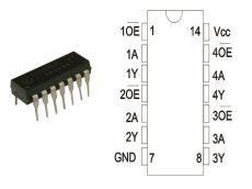 74HC125 DIP14 STM.