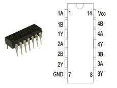 74HC132 DIP14
