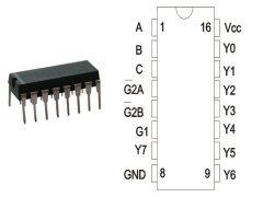 74HC138N DIP16