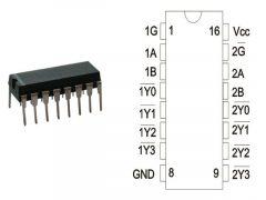 74HC139N DIP16