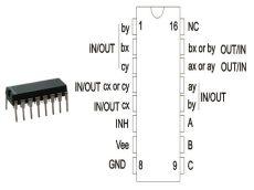 74HC4053 DIP NXP.