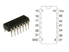 74HCT00 DIP14