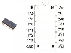 74HCT139D SMD  NXP.