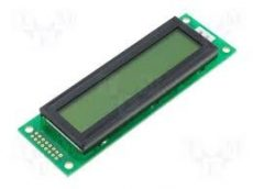 LCM2002ASL 2X20 LCD 116x37x9 LED BACKL