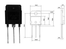 TIP2955 SOT93 P 100V 15A STM.