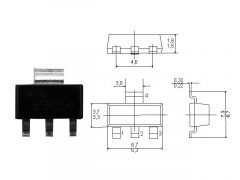 BCP55-16 TRANZISZTOR NPN SOT-223