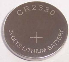 CACR2330 Lithium elem 3V