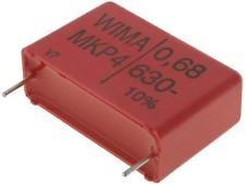 MKP4 680nF 630V MKP4 RM27,5mm WIMA