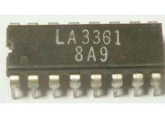 LA3361 DIP16 /AN7410,TA7604,BA1330,